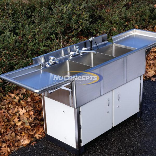 NuConcepts Portable Utility Sink